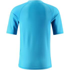 Reima Dalupiri Swim Shirt Barn cyan blue